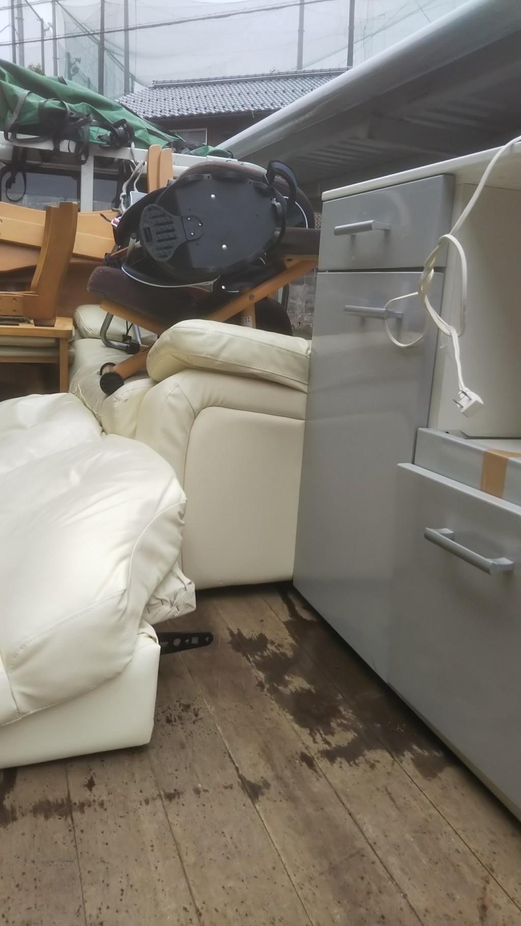 【松江市】軽トラ一台分の不用品出張回収・処分ご依頼 お客様の声