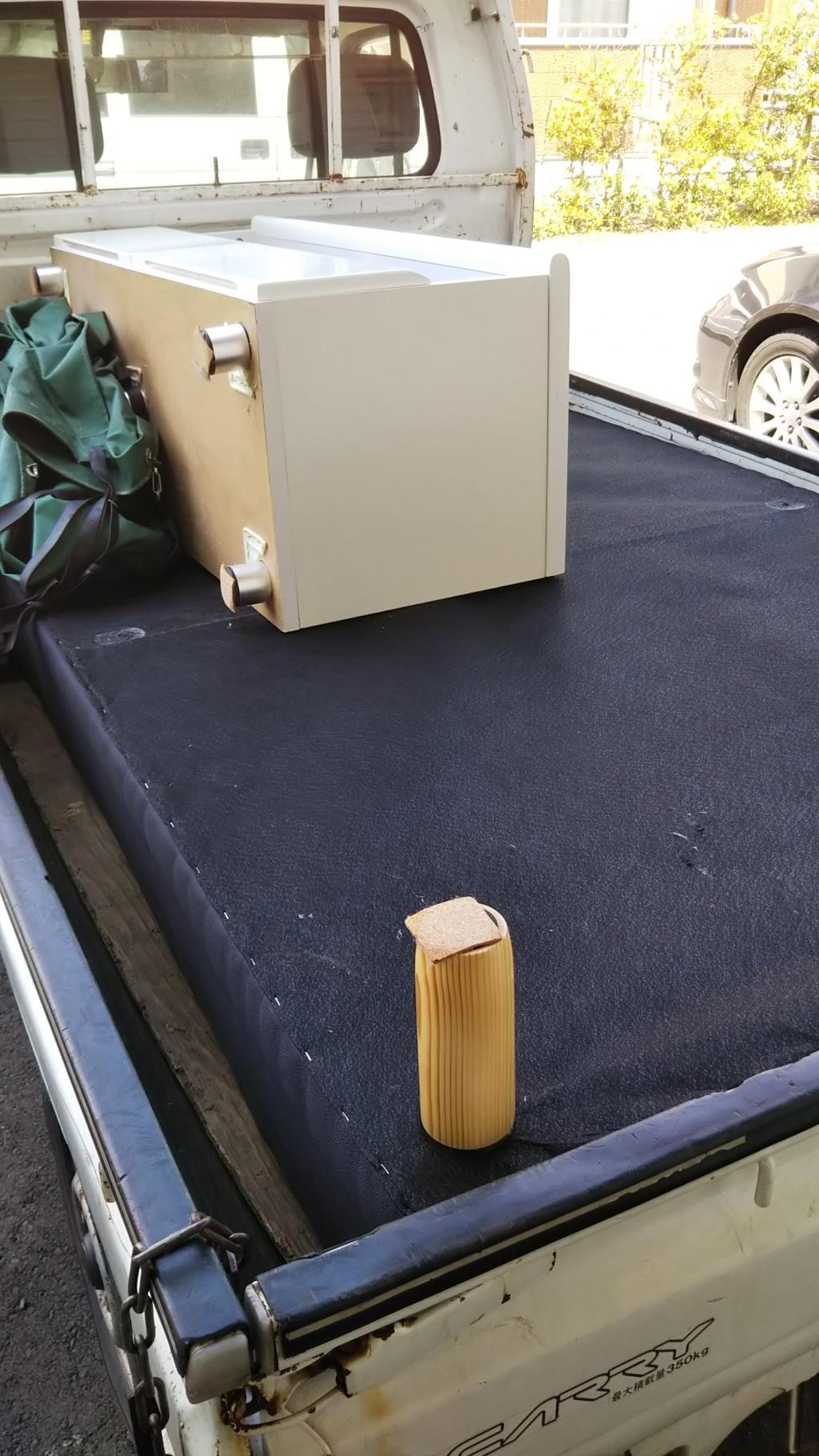 【出雲市荻杼町】タンスやベッドなど大型家具の回収☆提示額よりお安く済みご満足いただけました!