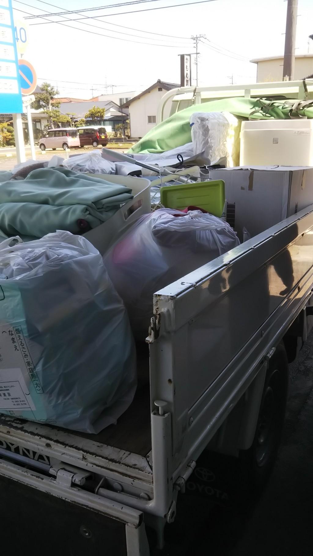 【出雲市】引っ越しに伴う不用品処分☆冷蔵庫や洗濯機なども即座に処分できご満足いただけました!