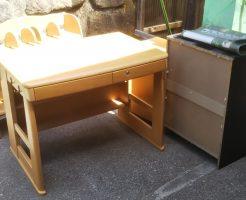 【出雲市東郷町】タンスと学習机など大型家具の回収☆希望日に作業できお喜びいただけました!