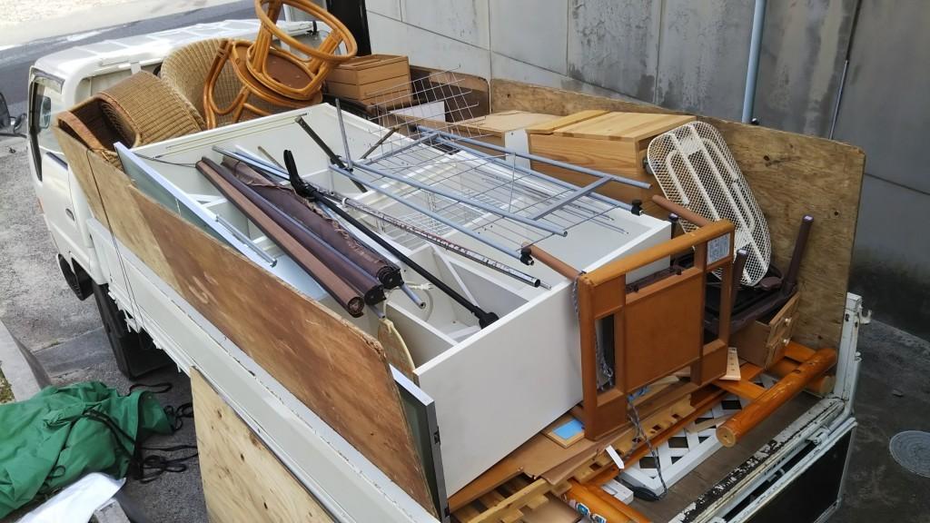 【大田市】収納棚、ベッド枠などの回収・処分 お客様の声