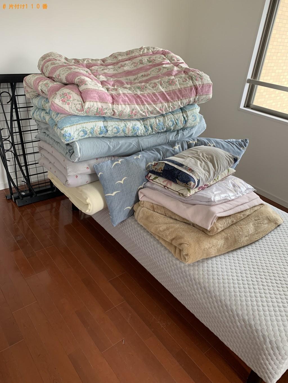 【出雲市】本棚、ウレタンマットレス、シングルベッド等の回収・処分