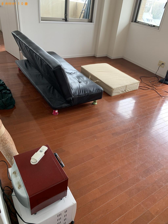 【小金井市】本棚、ウレタンマットレス、シングルベッド等の回収・処分