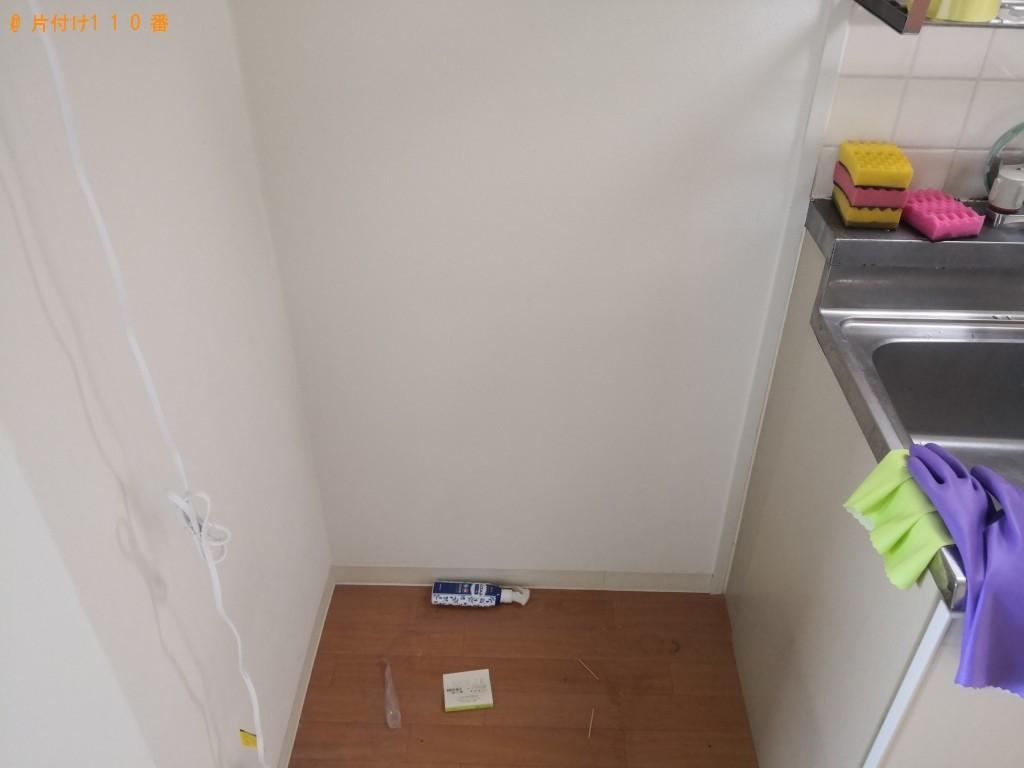 【出雲市】冷蔵庫、電子レンジ、こたつ、ローテーブル等の回収・処分
