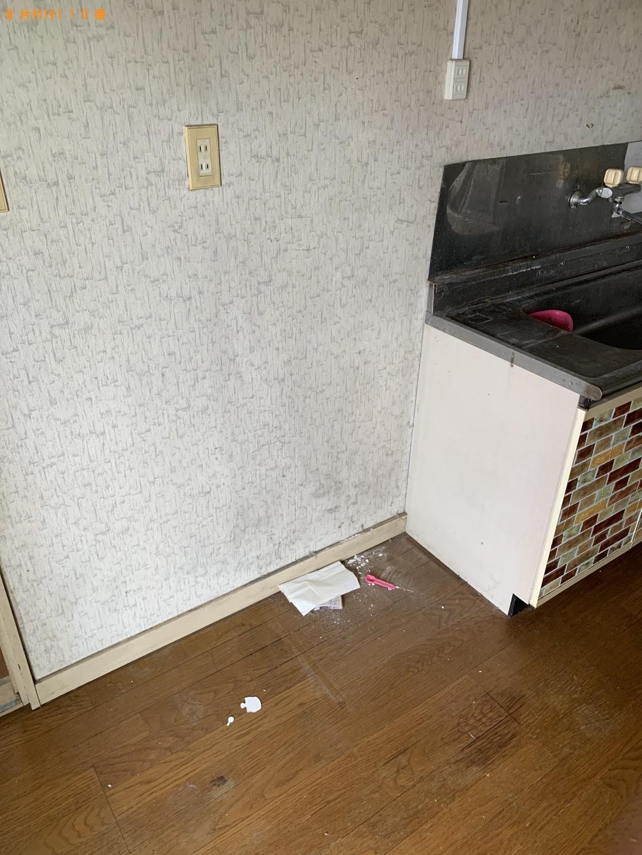 【稲城市】冷蔵庫、ソファー、学習机、キャットタワー等の回収・処分