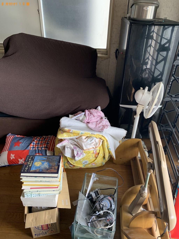 【出雲市】冷蔵庫、ソファー、学習机、キャットタワー等の回収・処分