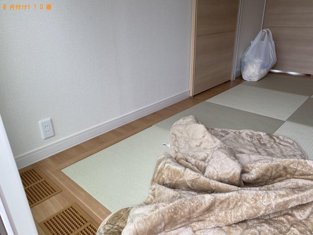 【出雲市平田町】ダブルベッド、ベッドマットレスの回収・処分ご依頼