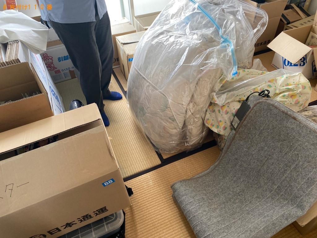 【松江市西川津町】カーペット、布団、一般ごみの回収・処分ご依頼