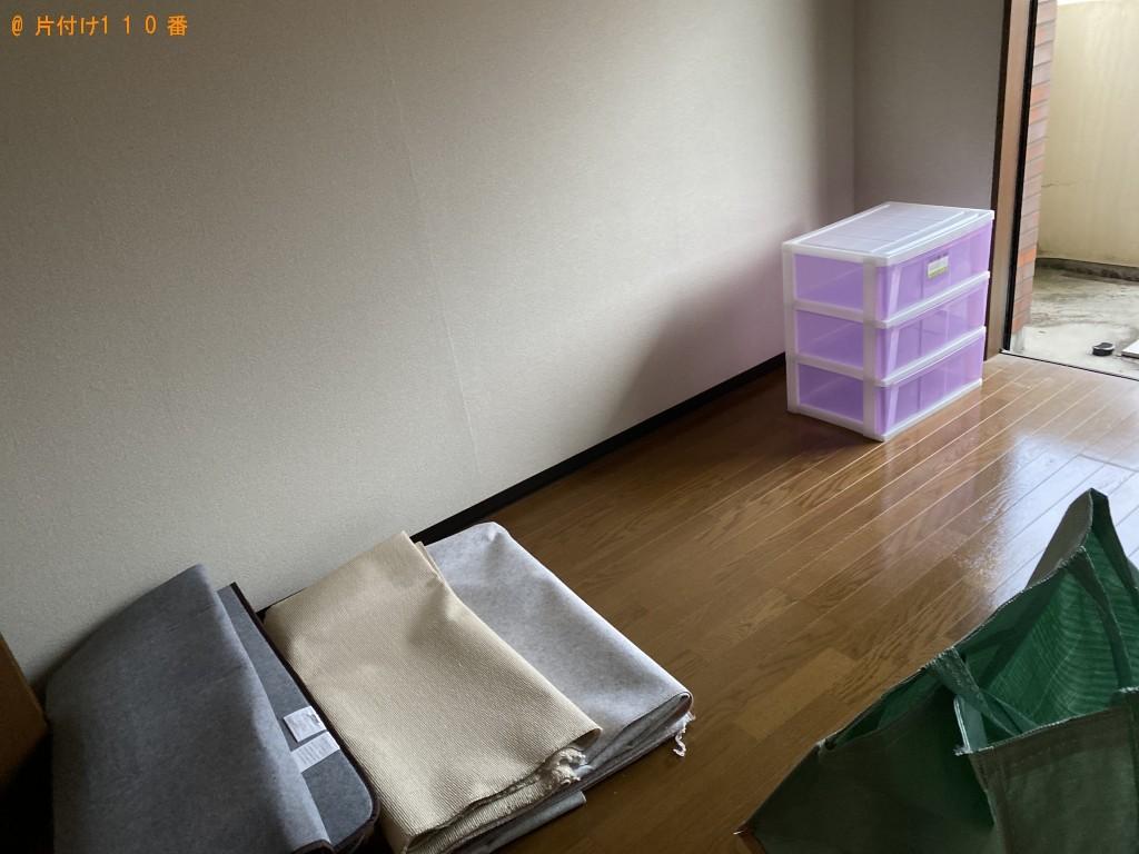 【大田市大田町】タンス、食器棚等の回収とハウスクリーニング