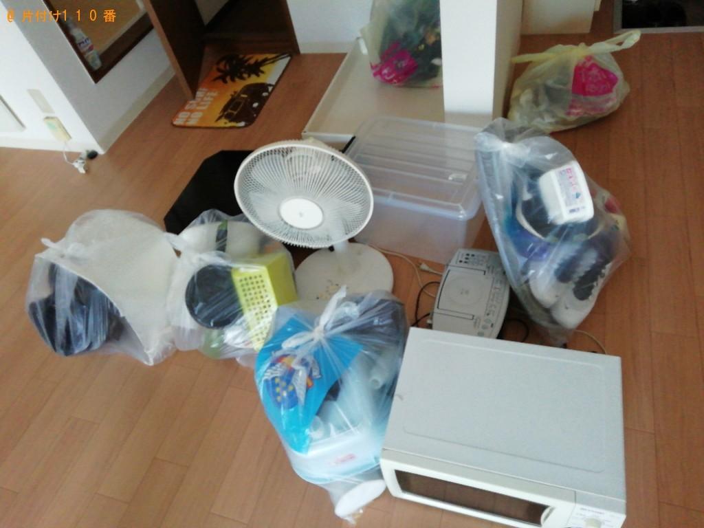 【松江市】電子レンジ、扇風機、テーブル等の回収・処分ご依頼