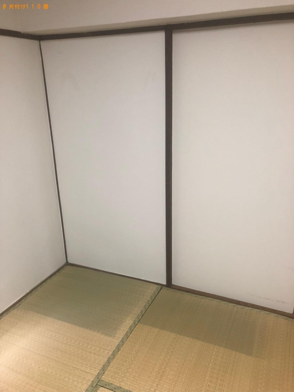 【松江市】タンス、電子レンジ、テレビ、テレビ台、ラック等の回収