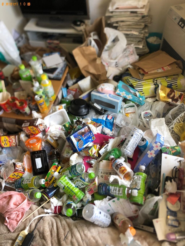 【松江市】一般ごみの回収・処分とハウスクリーニングご依頼