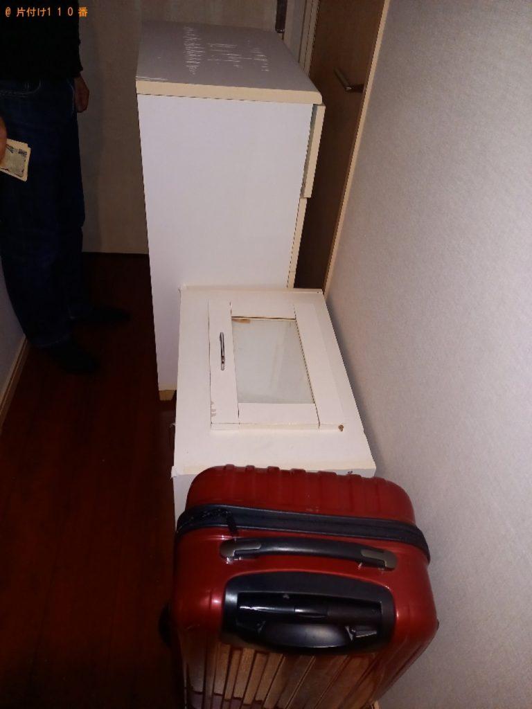 タンス、カラーボックス、業務用品等の回収・処分ご依頼
