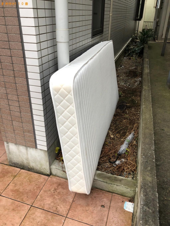 【松江市】シングルベッドマットレスの回収・処分ご依頼 お客様の声