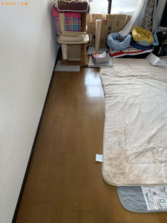 【松江市】三人掛けソファーの回収・処分ご依頼 お客様の声