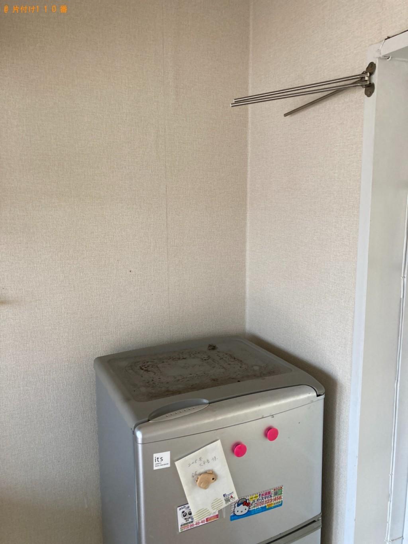 【松江市】洗濯機、マットレス付きシングルベッド等の回収・処分