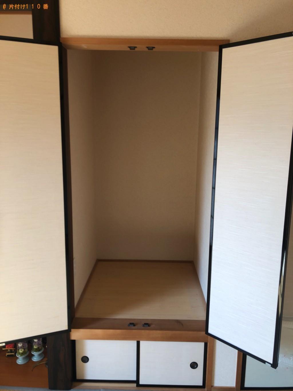 【松江市】仏壇、雛人形、羽子板の回収・処分ご依頼 お客様の声