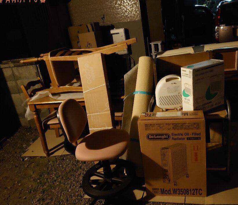 【松江市】椅子、テーブル、小型家電等の回収・処分ご依頼