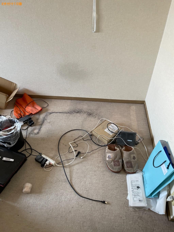 ベッド、ベッドマットレス、布団、物干しスタンド、タンス等の回収