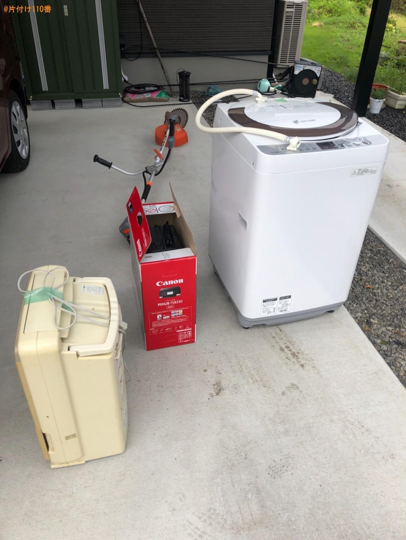 洗濯機、プリンター、空気清浄機、電動草刈り機の回収・処分ご依頼